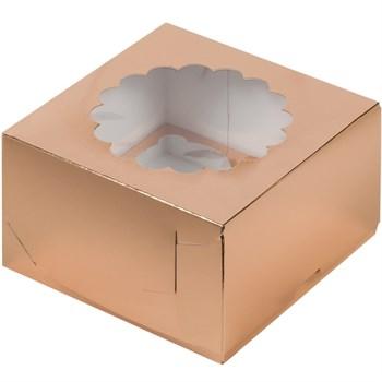"""Коробка на 4 капкейка с """"окном"""" - фото 10018"""