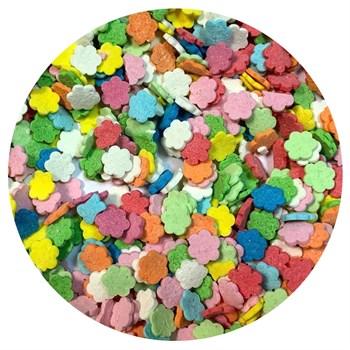 Кондитерские фигурные посыпки (Цветочки микс №1) - фото 10030