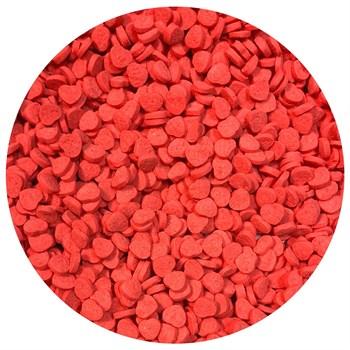 Кондитерские фигурные посыпки (Сердце красное) - фото 10042
