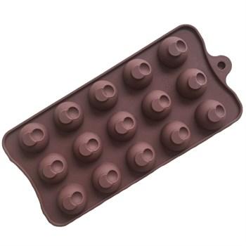 Силиконовая форма для шоколада Луна - фото 10062