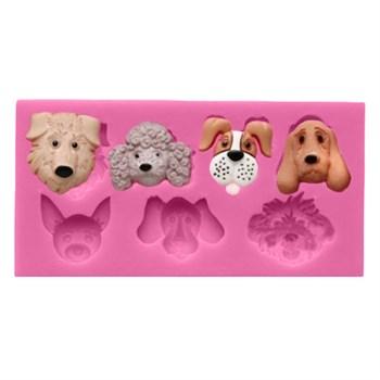 Силиконовый молд Собаки - фото 10126