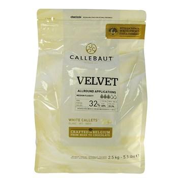 Белый шоколад Callebaut Velvet 32% - фото 10291