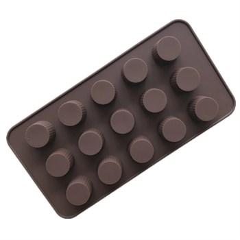 Силиконовая форма для шоколада Конфетки №3 - фото 10401