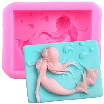 Силиконовая форма для мыла Русалка - фото 10414