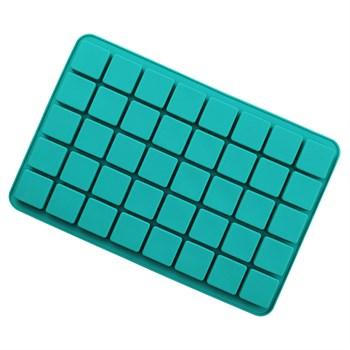 Силиконовая форма для шоколада 40 квадратов - фото 10433