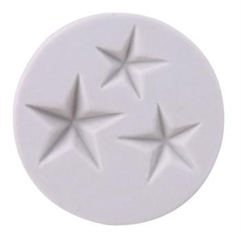 Силиконовый молд Звезды (3 шт) - фото 10450