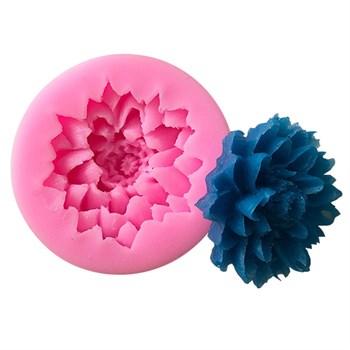 Силиконовый молд Цветок Астры - фото 10455