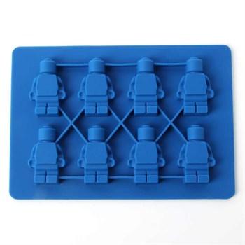 Силиконовая форма для шоколада Роботы (8 шт) - фото 10485
