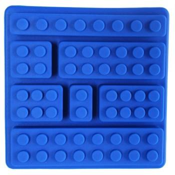 Силиконовая форма для шоколада Лего конструктор - фото 10486