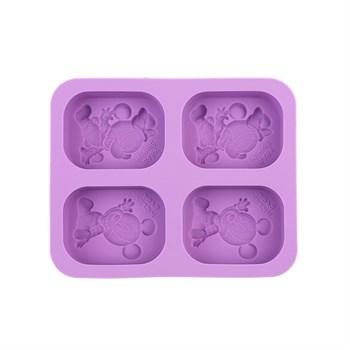 Силиконовая форма для мыла Микки Маус - фото 10555