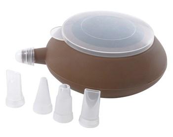 Декоратор для крема и теста (большой) 4 насадки - фото 5582