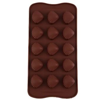 Силиконовая форма для шоколада Морские Ракушки - фото 5923