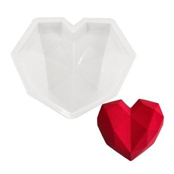 """Силиконовая форма для выпечки """"Сердце"""" - фото 5959"""
