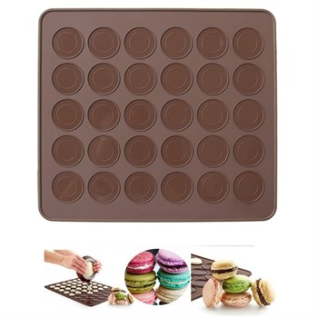 Коврик для выпечки macarons - фото 6287