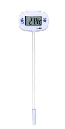 Вращающийся цифровой кухонный термометр - фото 6308