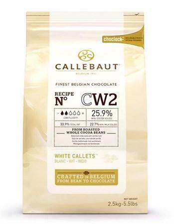 "Белый шоколад ""Callebaut"" 25,9 % 100 гр - фото 6331"