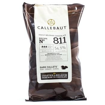 """Темный шоколад """"Callebaut"""" 54,5% 100 гр - фото 6333"""