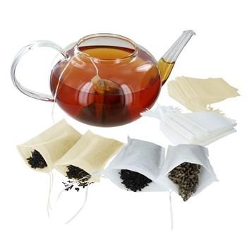 Фильтр-пакеты для заваривания чая 50 шт - фото 6358