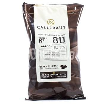"""Темный шоколад """"Callebaut"""" 54,5% 2,5 кг - фото 6432"""