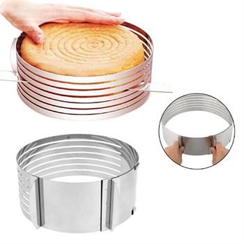 Регулируемое кольцо для резки торта - фото 6707