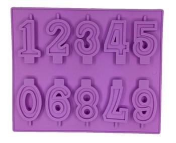 Силиконовая форма Цифры - фото 6715