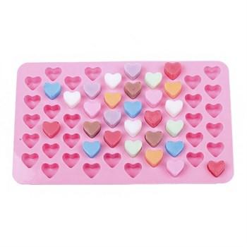 Силиконовая форма для шоколада (Сердечки) - фото 6753