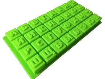 Силиконовая форма Алфавит - фото 6794