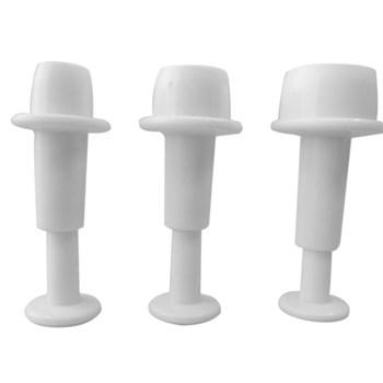 Набор из 3 формочек для вырубки Круги - фото 6819