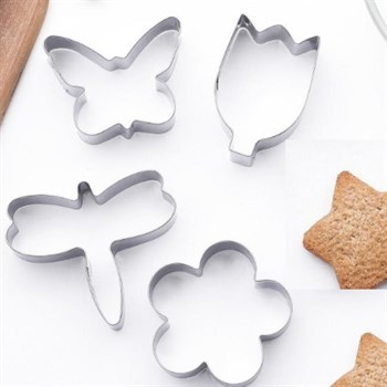 Металлический набор для печенья Весна (4 шт) - фото 7259