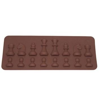 Силиконовая форма для шоколада Шахматы - фото 7360