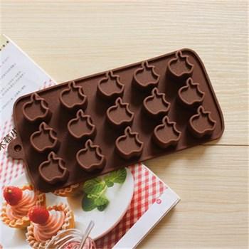 Силиконовая форма для шоколада Яблоко - фото 7371