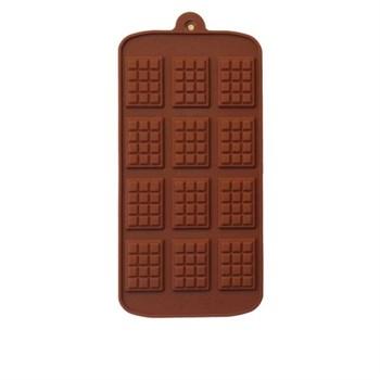 Силиконовая форма для шоколада Плиточки - фото 7408