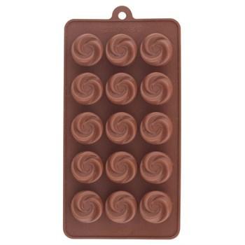 Силиконовая форма для шоколада Завиток - фото 7411
