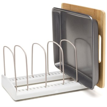 Регулируемая стойка-держатель для посуды - фото 7534
