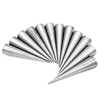 Набор из 8 конусов для выпечки (трубочки) - фото 7579