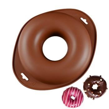 Силиконовая форма Большой пончик - фото 7662