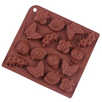 Силиконовая форма для шоколада Насекомые - фото 7729