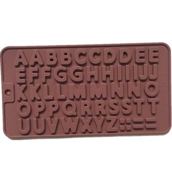 Силиконовая форма для шоколада Английские буквы - фото 7730