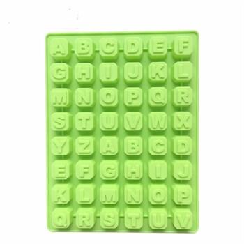 Силиконовая форма для шоколада Английские буквы - фото 7797