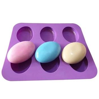 Силиконовая форма для мыла Овалы - фото 7945