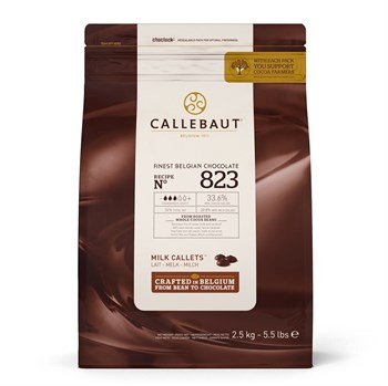 "Молочный шоколад ""Callebaut"" 33,6% - фото 7977"
