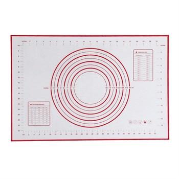 Термостойкий коврик для выпечки с разметкой - фото 8185
