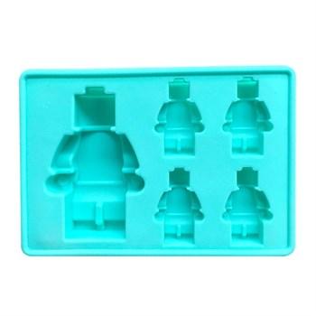Силиконовая форма для шоколада Набор роботов - фото 8384
