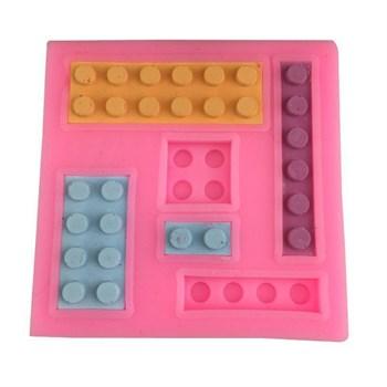 Силиконовый молд Конструктор Лего - фото 8401