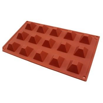 Силиконовая форма для шоколада Пирамиды - фото 8411