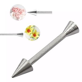 Металлический держатель гвоздик для декора - фото 8455