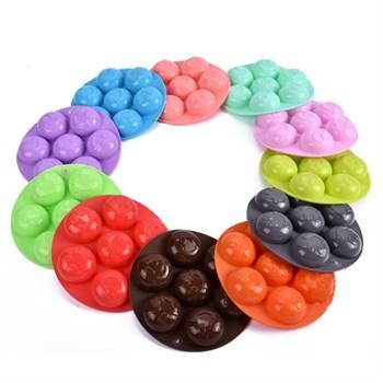 Силиконовая форма для шоколада Улыбка - фото 8608