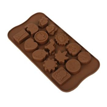 Силиконовая форма для шоколада Детская (мульт) - фото 8624