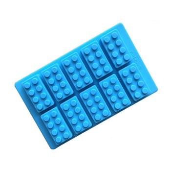 Силиконовая форма для шоколада Конструктор - фото 8656