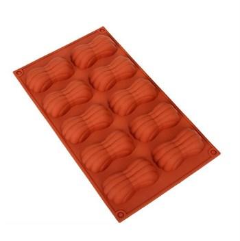 Силиконовая форма для шоколада Бантики - фото 8661